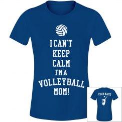 Keep Calm Volleyball Mom