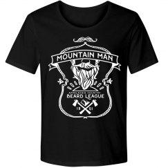 Mountain Man Beard League Tee