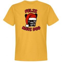 Feliz Navi Dog Christmas Tshirt