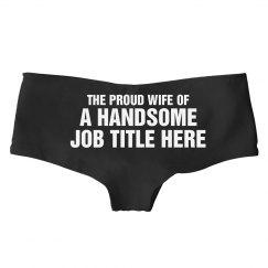 Custom Proud Wife Undies