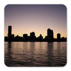 Milwaukee Skyline Magnet