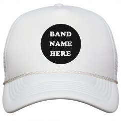 Add Your Band Name To Hats