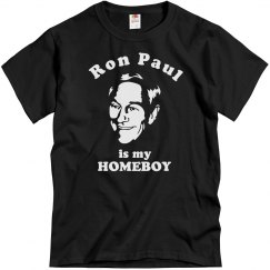Ron Paul Is My Homeboy