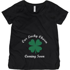 Our Lucky Charm St Patricks Maternity Top