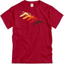 Red Shift Doppler X-Wing