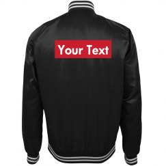 Your Text Supreme Parody Track Jacket