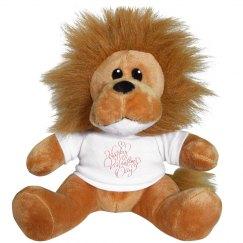 Happy Valentine's Day Lion