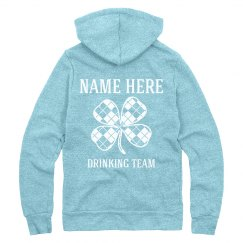 Custom St Pattys Drinking Team