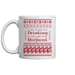 Drinking Shitfaced Coffee Mug