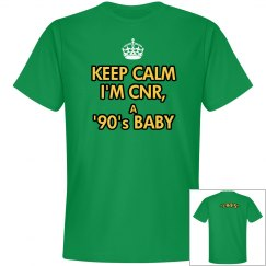 """CNR"" Personalized Tee"