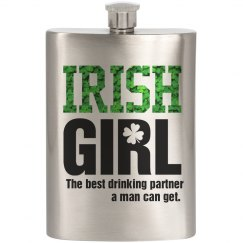 Drinking Irish Girl