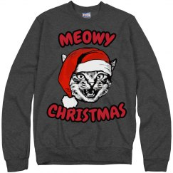 Meowy Christmas Cat