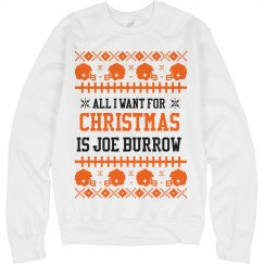 Mrs. Burrow Ugly Sweater