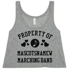 Property Of Mascotsnamew Band