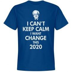 Keep Calm Bernie Sanders 2016