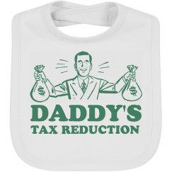 Tax Reduction Baby Bib