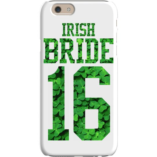 A 2016 St Pattys Irish Bride