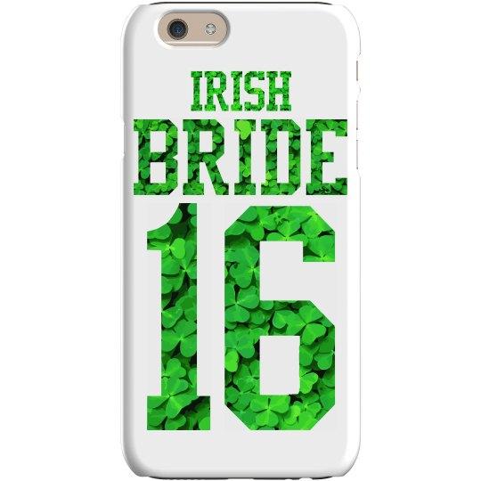 A 2016 St Pattys Irish Bride