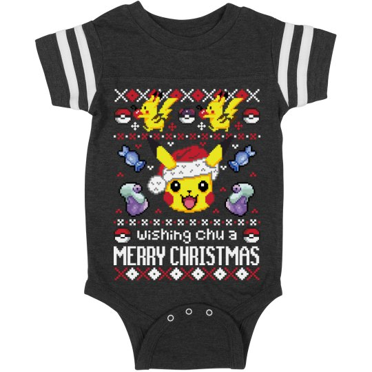 A Baby's Pocket Monster Christmas
