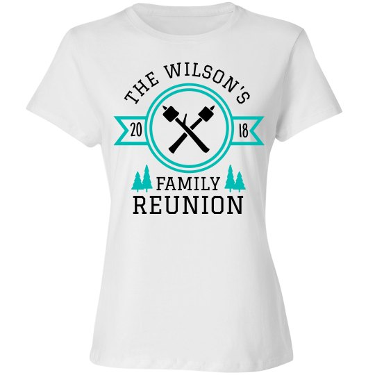 A Custom Family Reunion Design