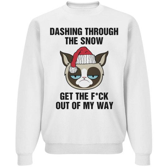 A Grumpy Cat Jingle Bells