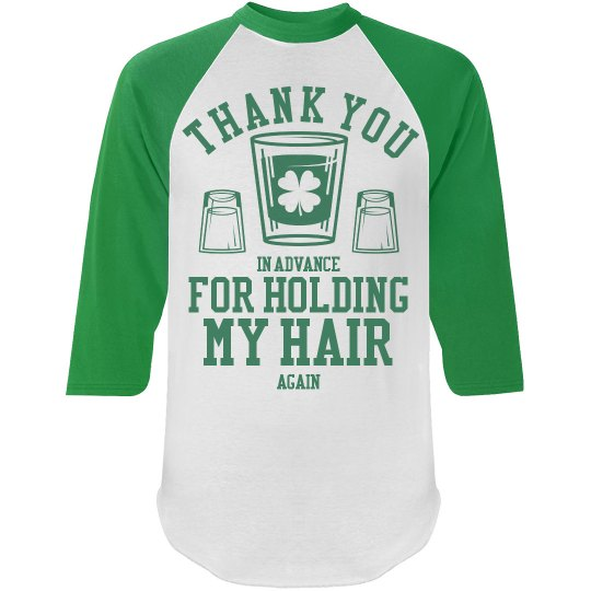 A St Patty Drinking Team Member