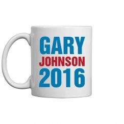 Gary Johnson Mug