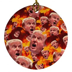 Funny Gift Donald Trump Fire & Fury