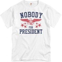 Nobody For President 2016