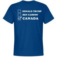Trump, Carson, Canada!