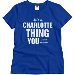 Charlotte thing