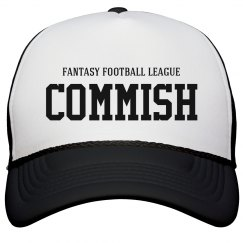 Fantasy Football League Commish Hat