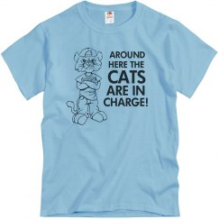 Here The Cats In Charge!
