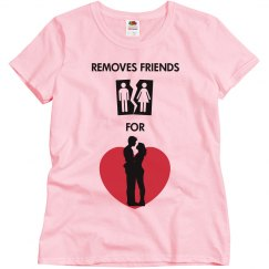 Remove Friends For Love