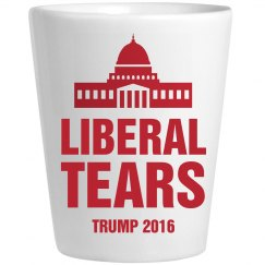 Shot Glass Of Liberal Tears Trump