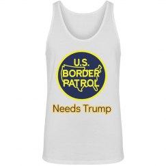 Trump Border Tank Top