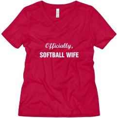 Officially Softball Wife