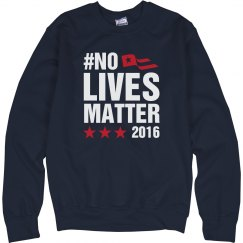 No Lives matter 2016 Navy
