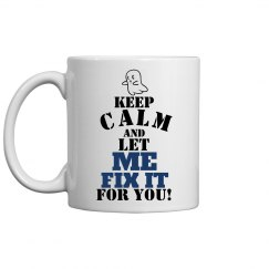 keep calm, fix it mug 11oz