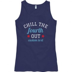Chill The 4th Out custom Tank
