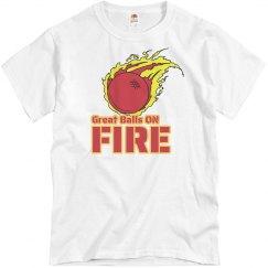 Dodgeballs On Fire