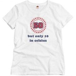 50 in Celsius