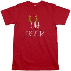 Oh Deer Christmas Tshirt