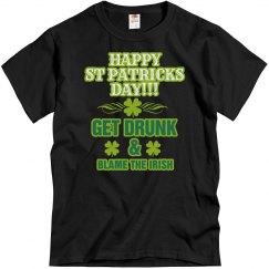 Get Drunk & Blame The Irish