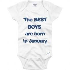 Best boys born in January