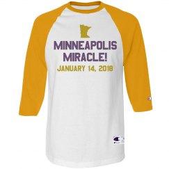Minneapolis Miracle Baseball Tee