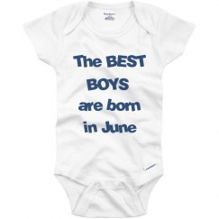 Best boys born in June