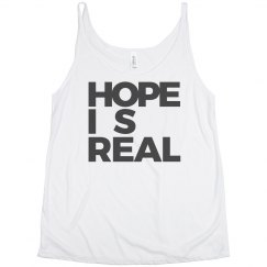 HOPE IS REAL SLOUCHY TANK