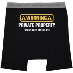 Funny Private Property Keep Off