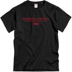 Hawkins Indiana 1983 Tee